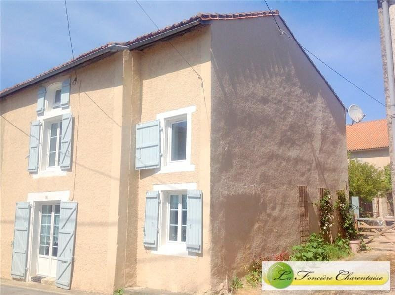 Vente maison / villa Marcillac lanville 70000€ - Photo 1