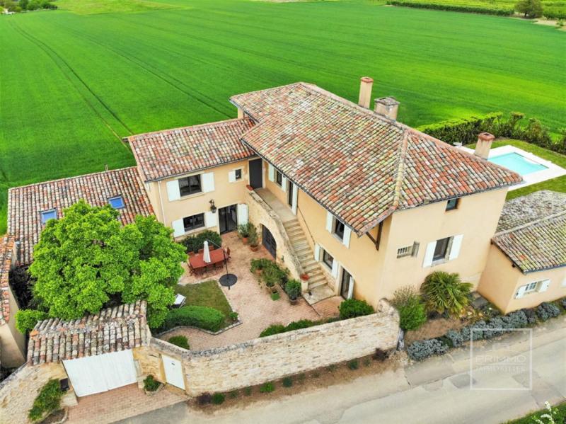 Deluxe sale house / villa Lissieu 850000€ - Picture 1