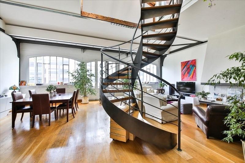 Vente de prestige loft/atelier/surface Paris 17ème 1750000€ - Photo 1