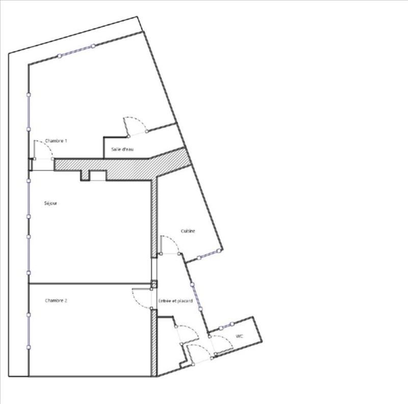 Venta  apartamento Paris 18ème 504000€ - Fotografía 6