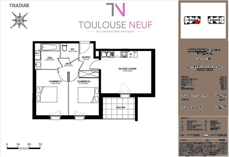 Vente appartement Toulouse 203 500€ - Photo 10