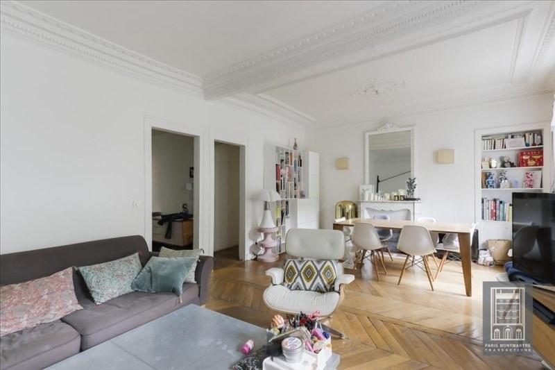 Vente appartement Paris 18ème 866000€ - Photo 4