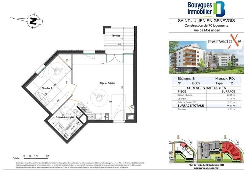 Sale apartment St julien en genevois 224000€ - Picture 2
