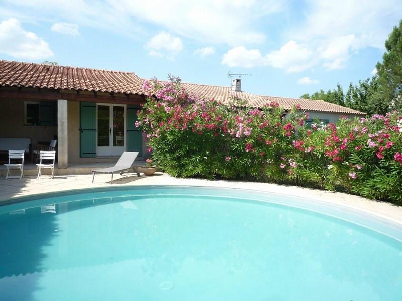 Sale house / villa Camaret sur aigues 388500€ - Picture 3