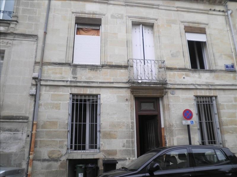 Rental apartment Bordeaux 592€ CC - Picture 1