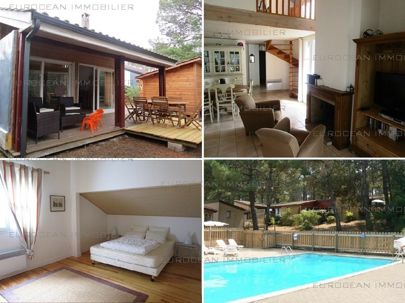 Vacation rental house / villa Lacanau ocean 455€ - Picture 1