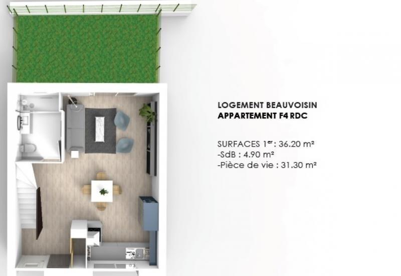 Vente maison / villa Beauvoisin 149900€ - Photo 3