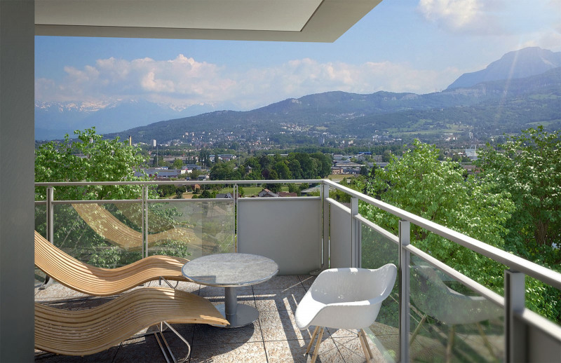 Investment property apartment La motte-servolex 269 000€ - Picture 4