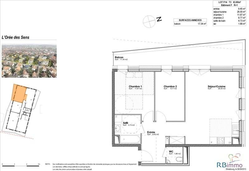Vente appartement Souffelweyersheim 237000€ - Photo 4