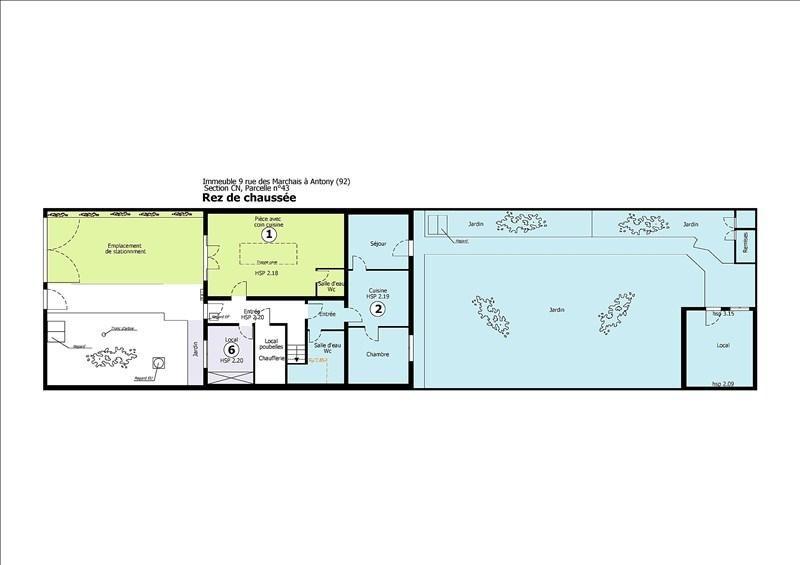 Vente appartement Antony 190000€ - Photo 7