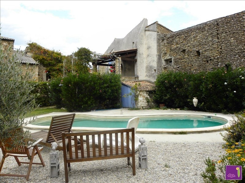 Vente maison / villa Goudargues 267 000€ - Photo 1