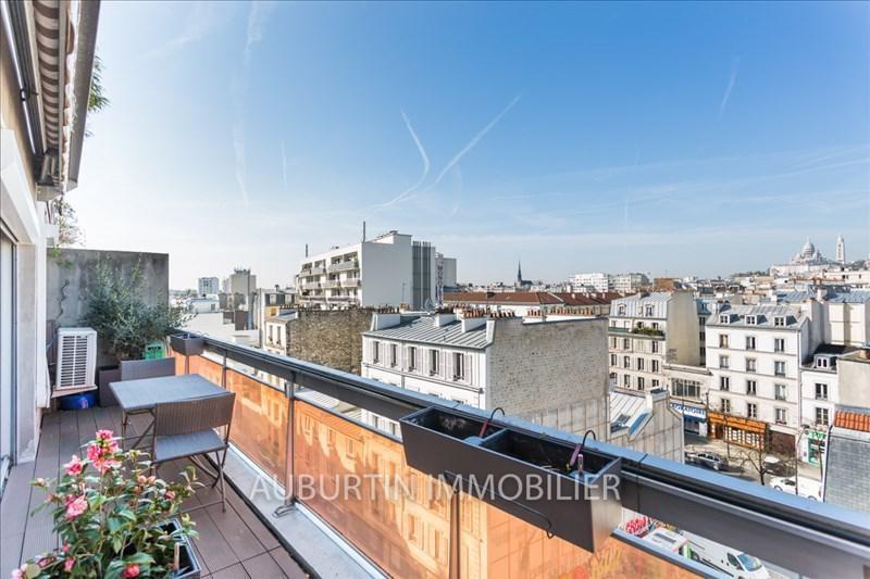 Vente appartement Paris 18ème 858000€ - Photo 1