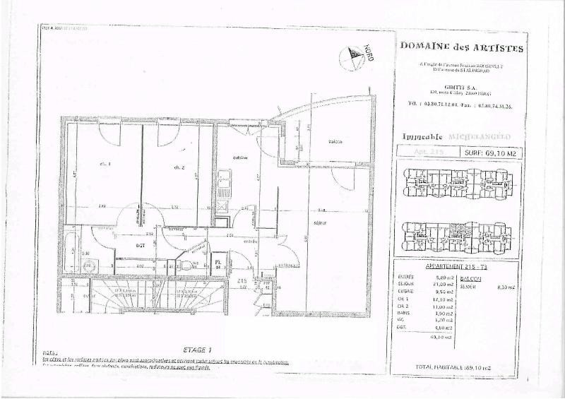 Location appartement Dijon 680€ CC - Photo 7