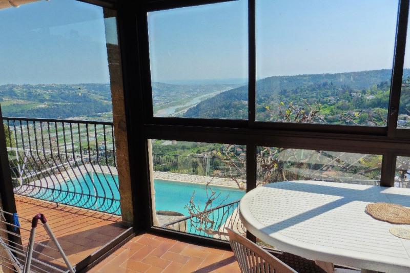 Deluxe sale house / villa Gattieres 640000€ - Picture 2