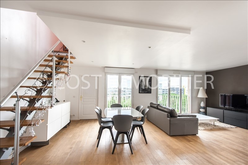 Verkoop  appartement Asnieres sur seine 495000€ - Foto 1