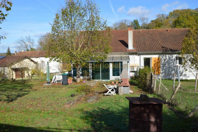 Life annuity house / villa Montrem 48500€ - Picture 1