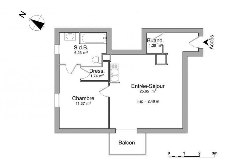 Location appartement Bagneux 915€ CC - Photo 2