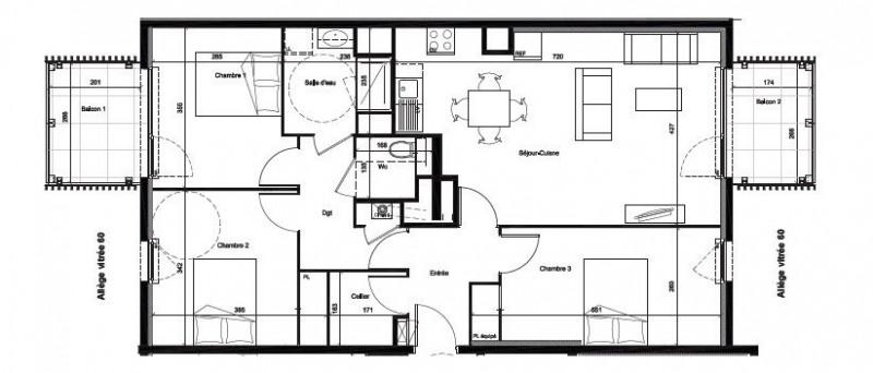 Sale apartment Venissieux 285300€ - Picture 3