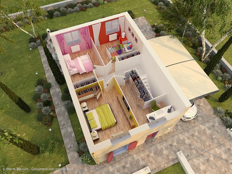 Maison  5 pièces + Terrain Tigeaux par MAISONS PIERRE