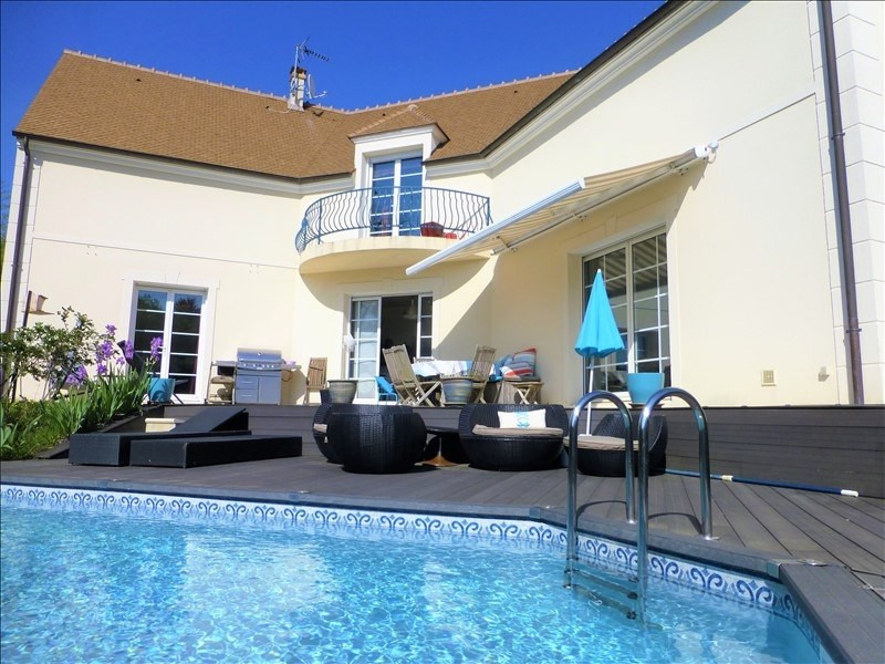 Revenda casa Orgeval 850000€ - Fotografia 10