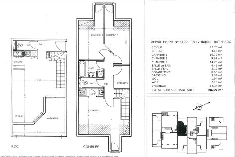 Sale apartment St denis 180000€ - Picture 9
