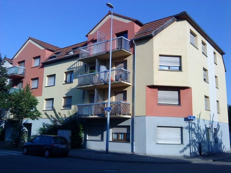 Vermietung wohnung Illkirch graffenstaden 395€ CC - Fotografie 1