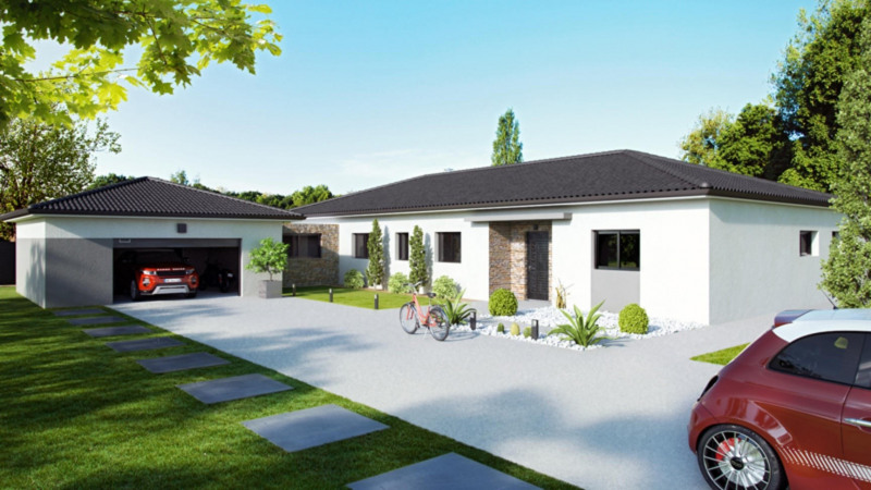 Maison  4 pièces + Terrain 590 m² Lacroix-Falgarde par CELIA CREATION