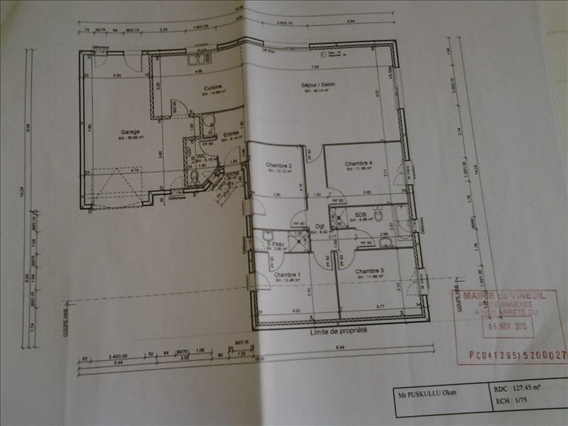 Sale house / villa Vineuil 321000€ - Picture 7