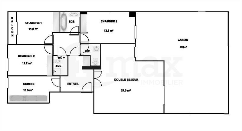 Vente de prestige appartement Levallois perret 1050000€ - Photo 7