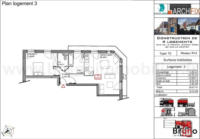 Deluxe sale apartment Le crotoy 249 800€ - Picture 6