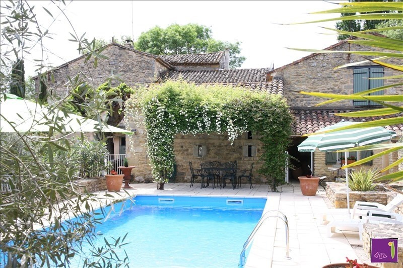 Deluxe sale house / villa Uzes 798 000€ - Picture 1