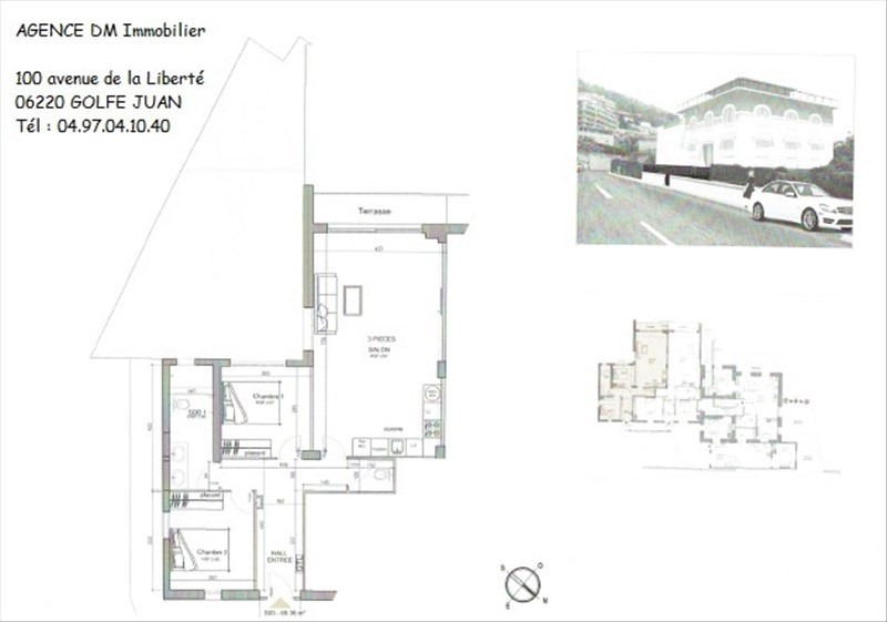 Investment property apartment Nice 420 000€ - Picture 2
