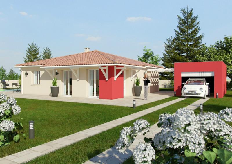 Maison  3 pièces + Terrain 820 m² Nailloux par maisons cote soleil