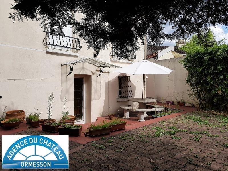 Sale house / villa La varenne st hilaire 500000€ - Picture 1