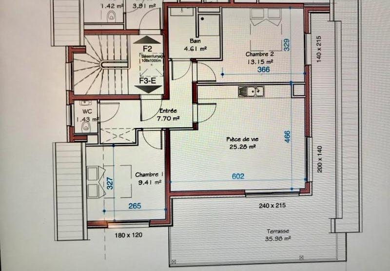 Venta  apartamento Geispolsheim 271000€ - Fotografía 4