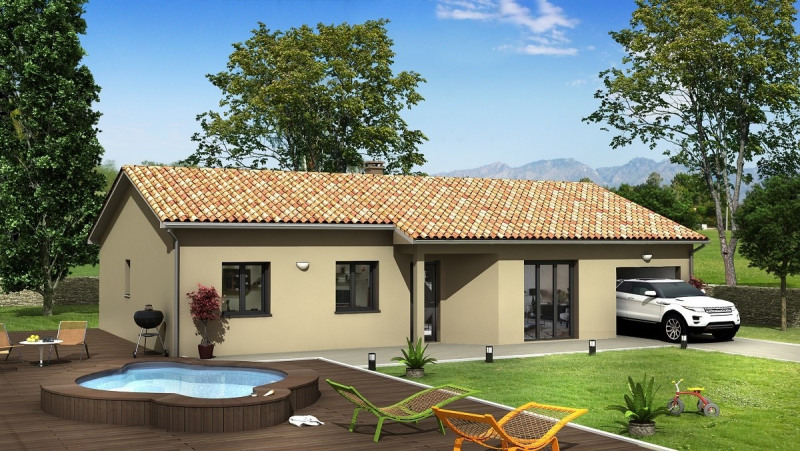 Maison  5 pièces + Terrain 481 m² Blyes par Villas Club Pusignan