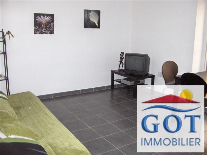 Rental apartment St laurent de la salanque 540€ CC - Picture 1