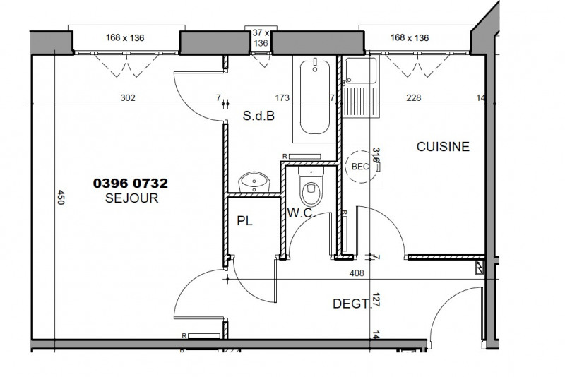 Location appartement Boulogne-billancourt 834,80€ CC - Photo 5