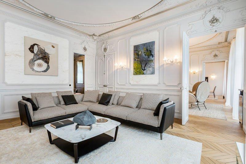 Verkoop van prestige  appartement Paris 8ème 5830000€ - Foto 3