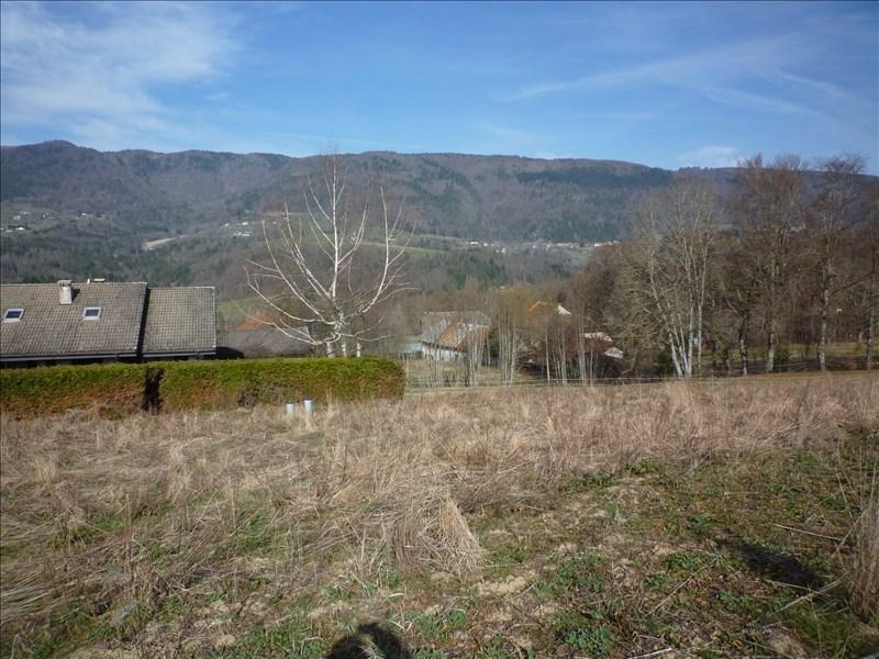 Venta  terreno Menthonnex en bornes 164000€ - Fotografía 2