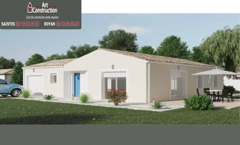 """Modèle de maison  """"Modèle Bonno 4 pièces"""" à partir de 4 pièces Charente-Maritime par ART CONSTRUCTION"""
