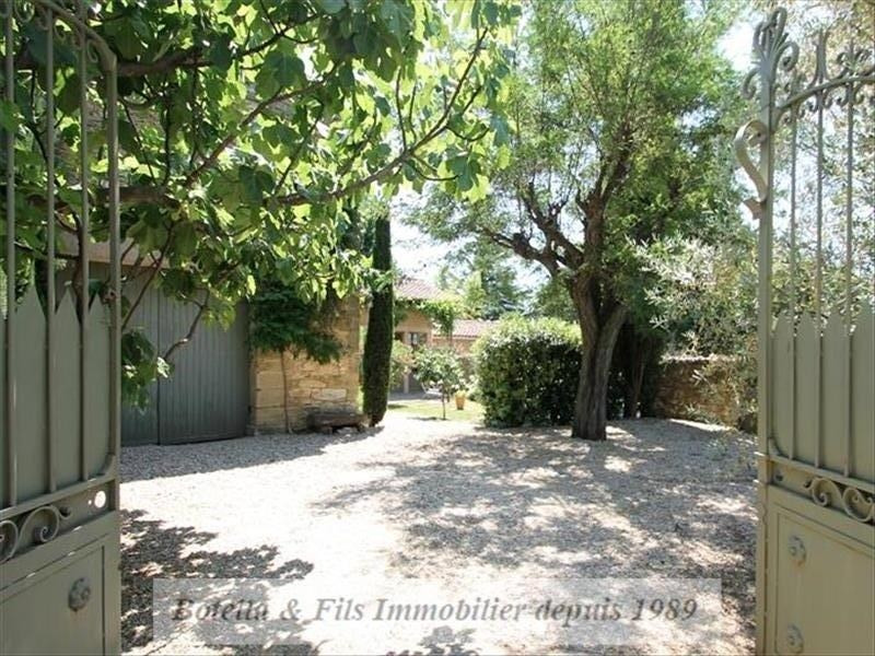 Deluxe sale house / villa Uzes 849000€ - Picture 1