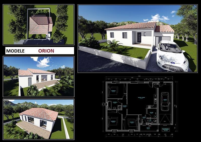 Maison  4 pièces + Terrain 304 m² Lespignan par HOME SUD CONSTRUCTION
