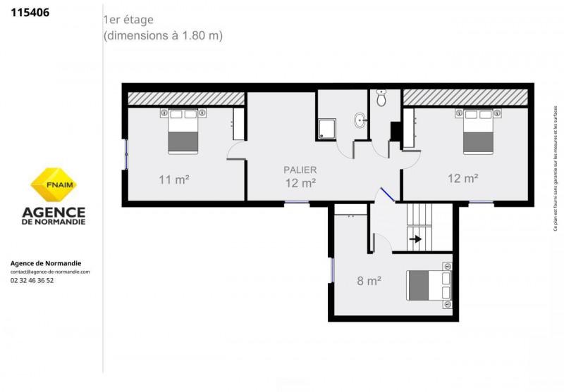 Vente maison / villa La ferte-frenel 115000€ - Photo 7