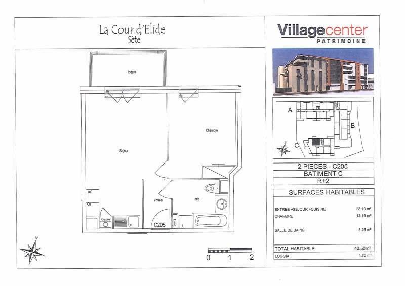 Location appartement Sete 565€ CC - Photo 3