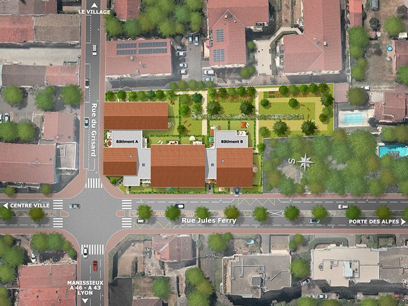 Jardin secret programme immobilier neuf st priest for Programme jardin