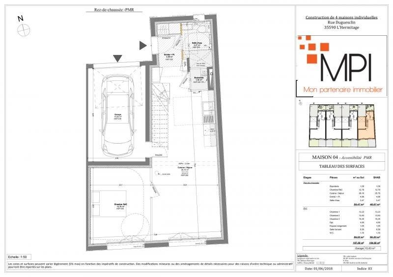Vente maison / villa L hermitage 290940€ - Photo 4