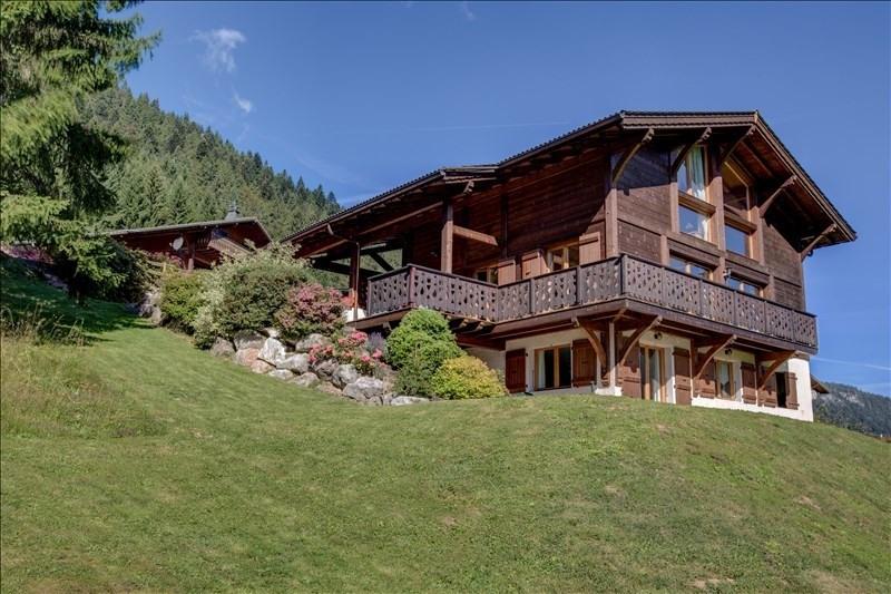 Verkoop van prestige  huis La cote d arbroz 950000€ - Foto 1