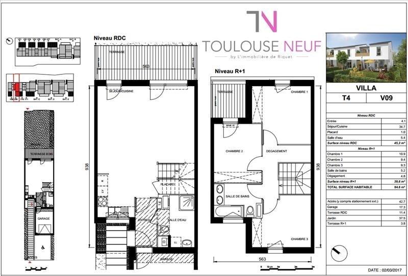 Vente maison / villa Villeneuve tolosane 241500€ - Photo 8
