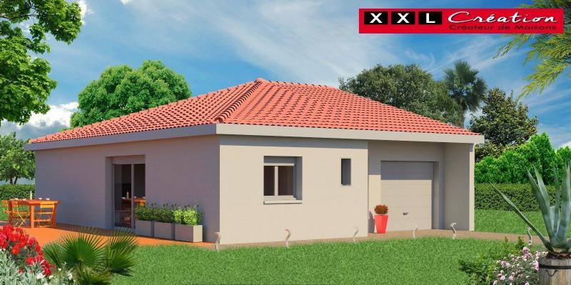 Maison  3 pièces + Terrain Fitou par XXL CREATION